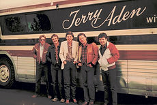 Terry Aden's tour bus.