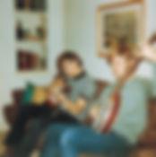Greg, guitar - Steve, banjo