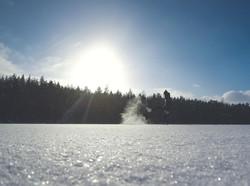 Sniegs pa gaisu