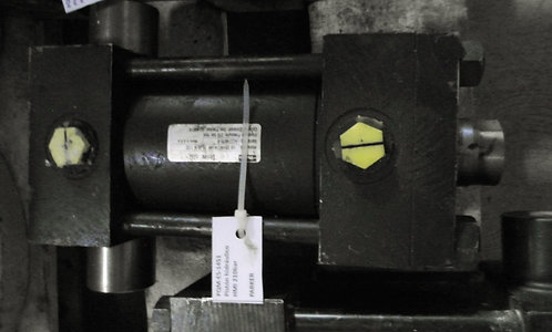 Pistón hidráulico HMI 210 bar #1451
