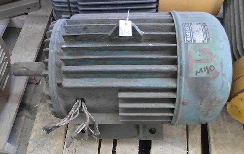 Motor de 1460 rpm, 15 hp #1851