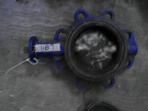 """Refacción de válvula de mariposa 6"""" #1189"""