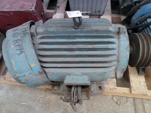 Motor de 1300 rpm, 15 hp #1844
