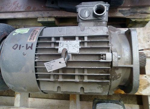Motor de 1735 rpm, 7.5 hp #1789