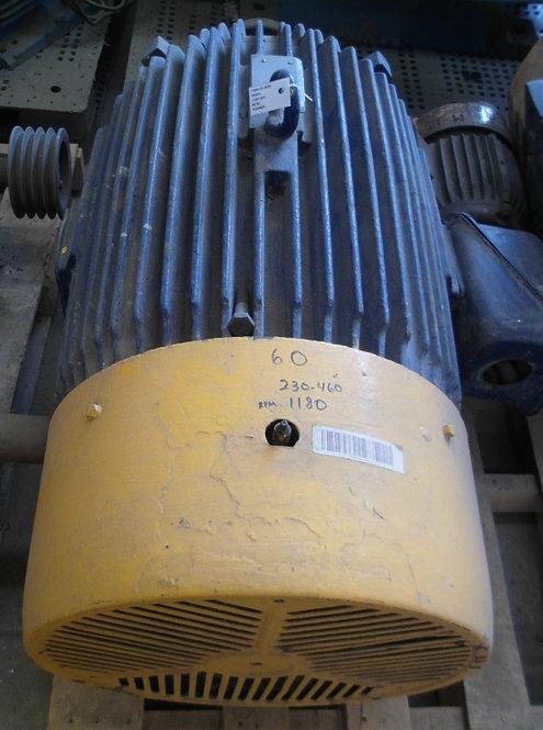 Motor de 1180 rpm, 60 hp #1820