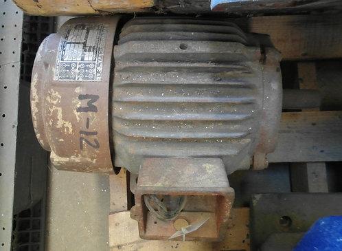 Motor de 1450 rpm, 3 hp #1822