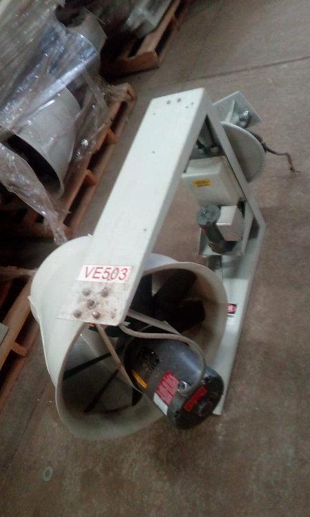 Ventilador de 1725 rpm, 3 hp #1067