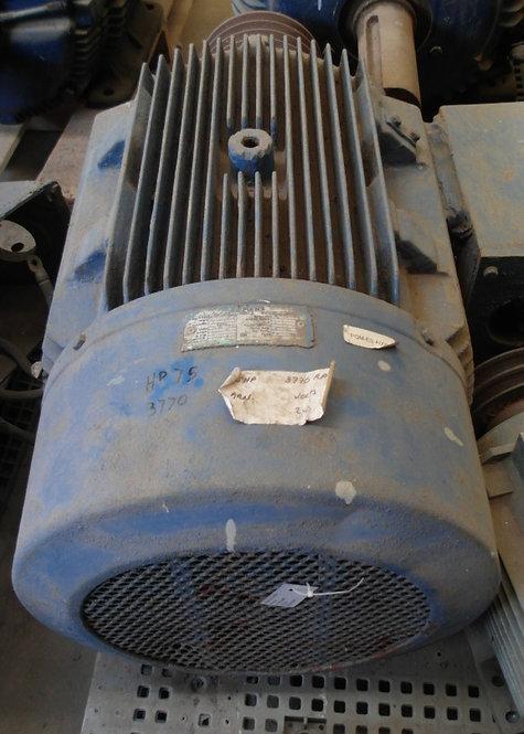 Motor de 3770 rpm, 75 hp #1898