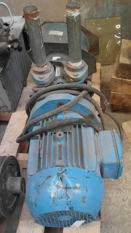 Motor de 3480 rpm, 5 hp #1846
