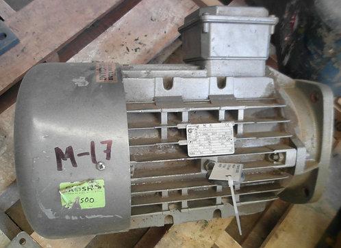 Motor de 1735 rpm, 7.5 hp #1831