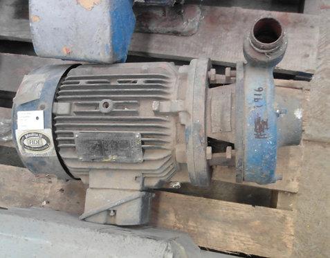 Motobomba de 3490 rpm, 5 hp #1916