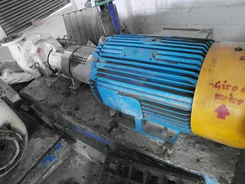 Motor + Bomba centrífuga + válvula de cuchilla #026