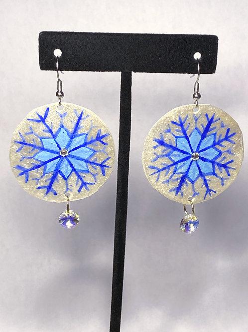 Icy Snowflake Earrings