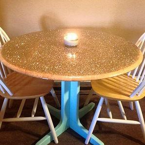 Glittered Dinner Table.jpg