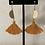 Thumbnail: Golden Half Moon Earrings