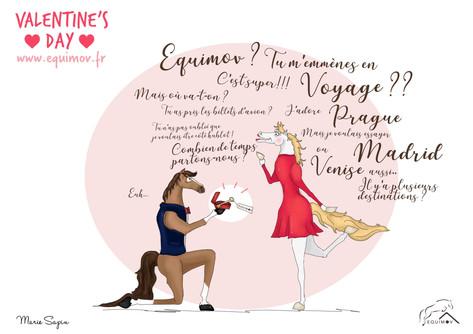 St Valentin avec Equimov