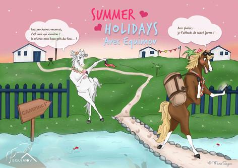Summer Holidays avec Equimov