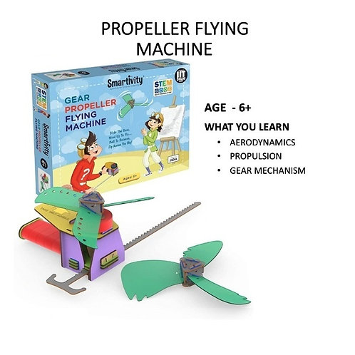 Smartivity-Gear Propeller Flying Machine