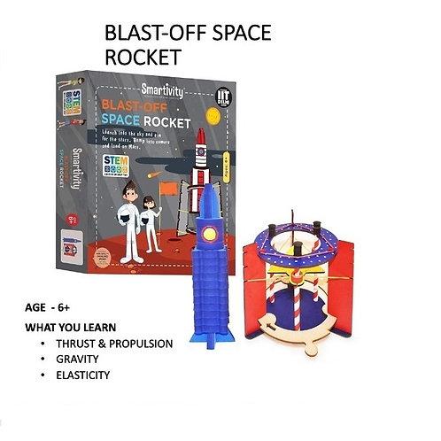Smarivity-Blast Off Space Rocket