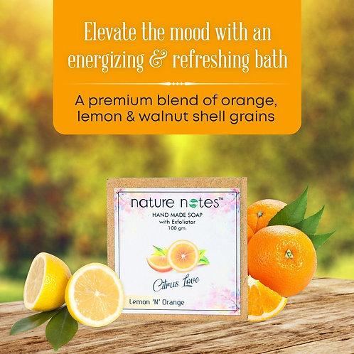 Nature Notes-Lemon 'N Orange Soap- 100gm