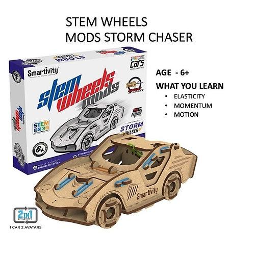 Smartivity- Stem Wheels Mods Storm Chaser