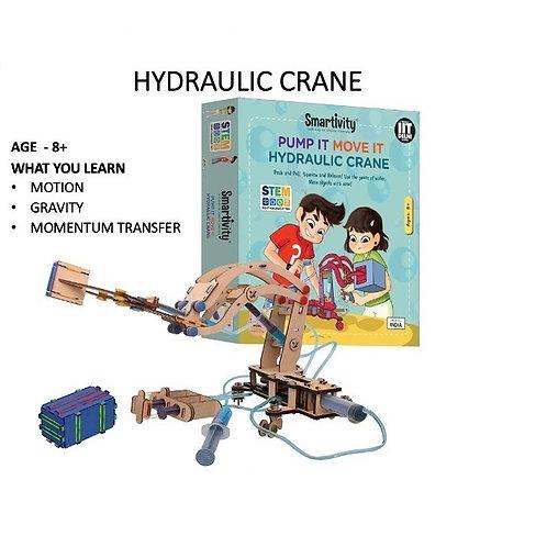 Smartivity-Hydraulic Crane