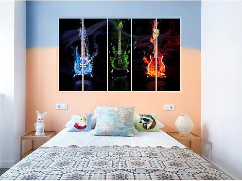 Multi Frame Wall Panel-Nature in Music