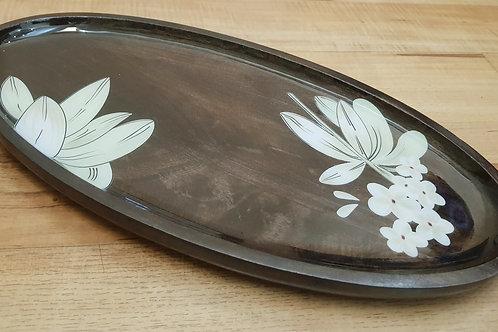 Petal Oval Platter Tray