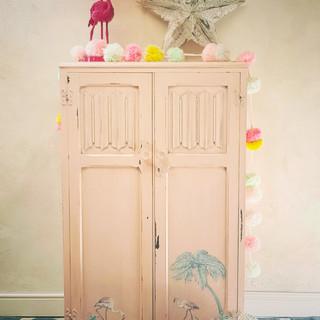 1 childs redesigned vintage flamingo war