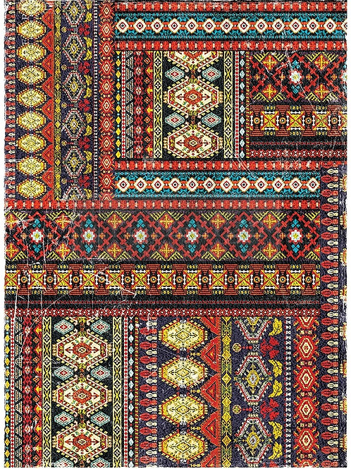 Western Tapestry Furniture Decor Transfer Re Design by Prima