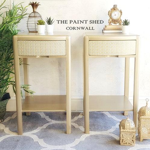 Stunning bedside tables, lamp tables, side tables, bedside cabinets.