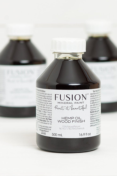Fusion Hemp Oil Wood Finish 500ml