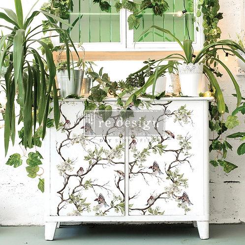 Blossom Flight Furniture Decor Transfer by Re Design Prima