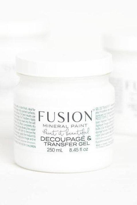 Fusion Mineral Paint - Decoupage & Transfer Gel