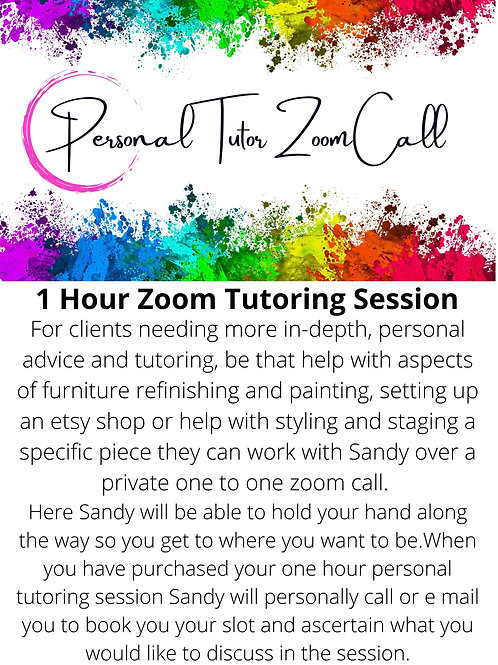 Private Tutoring Session Zoom Call