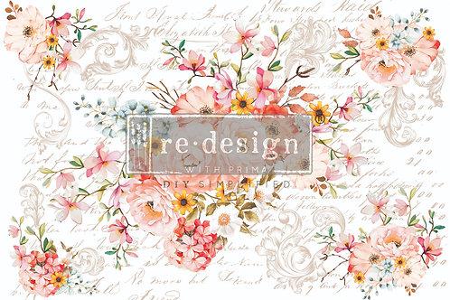 Rose Celebration Furniture Decor Transfer by Re Design Prima