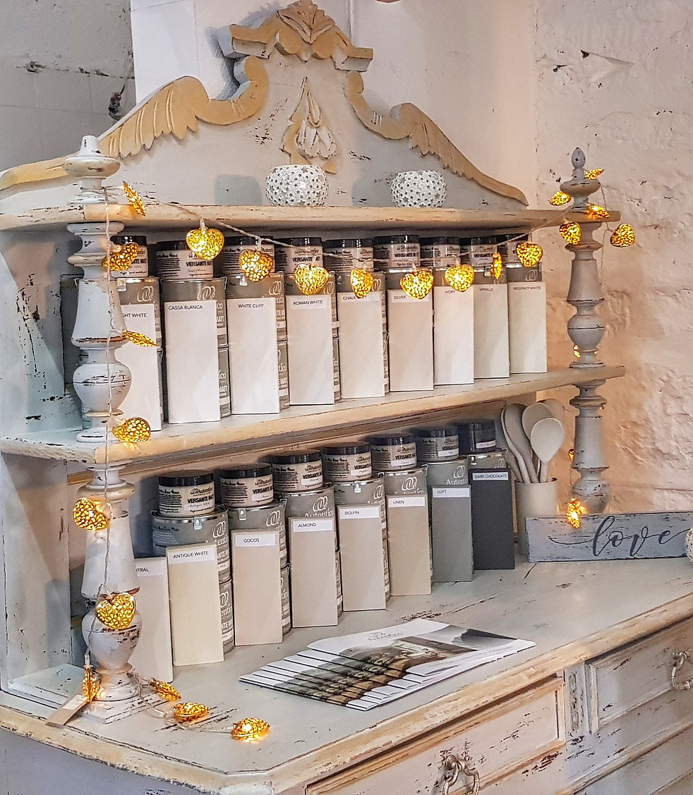 Autentico neutrals at The Paint Shed Cor