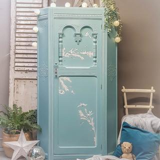 Decoupaged wardrobe by Feral Furniture D