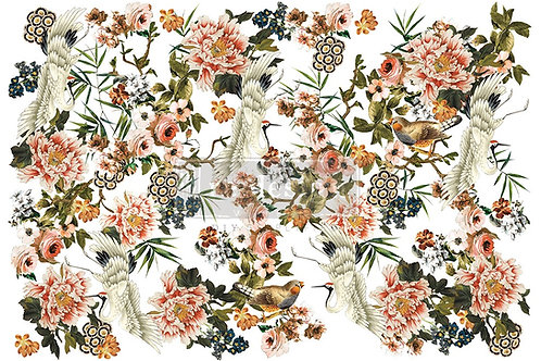Elegance and FLowers Decor Transfer by Re Design Prima