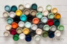 fusion mineral paint tester pots colour palette