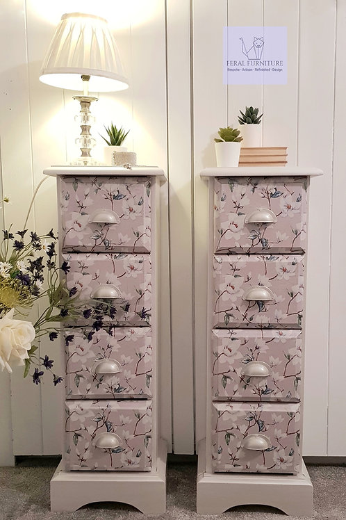 Lilly- Drawers - Lamp Stands - Bedside Drawers - CD Storage - Jewellery Storage