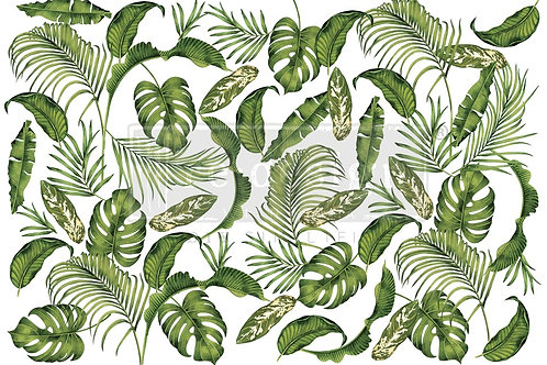 Tropical Paradise Large Furniture Decor Transfer by Re Design Prima
