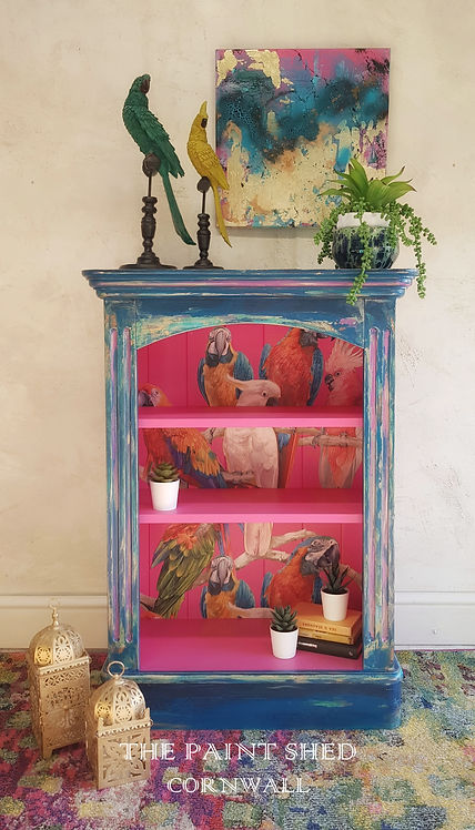 Painted Layered Distressed Bohemian Book