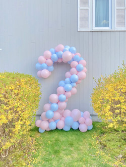Number Two Balloons