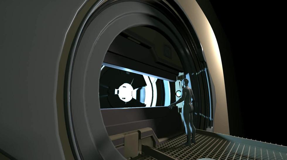 Star gate animation test
