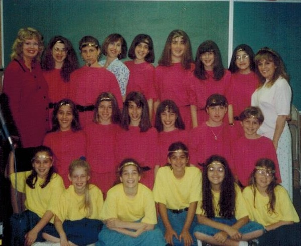 Kollot Shira Girls Choir Show 1993 001 crop