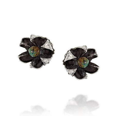 Earrings from the flower of Jerusalem co