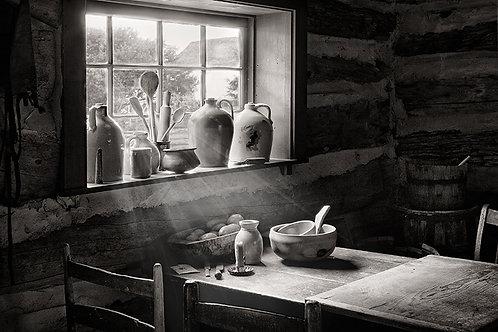 """Pioneer Kitchen - 11 x 14"""" Matted Print"""