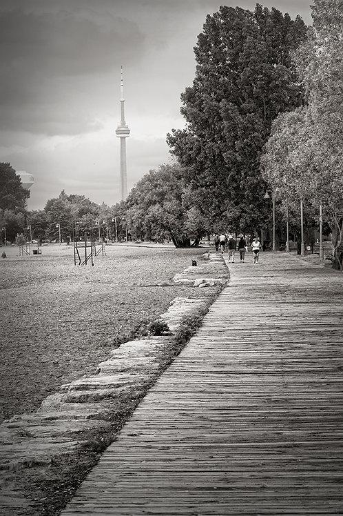"Toronto Boardwalk - 11"" x 14"" Matted Print"