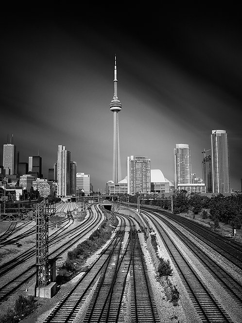 "Railway Lands - 11"" x 14"" Matted Print"